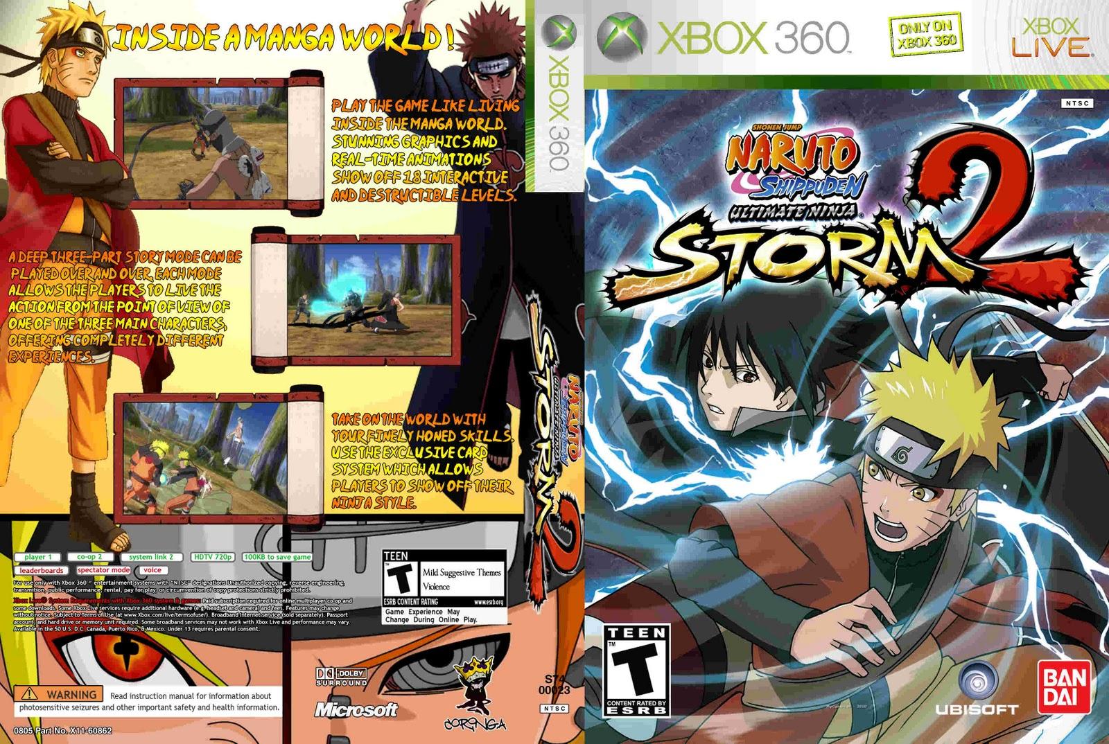 Новая игра серии ultimate ninja storm 2 naruto shippuden: ultimate ninja storm 2 / р naruto shippuden : ultimate